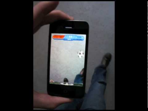 Juggle A Virtual Soccer Ball On Your iPhone