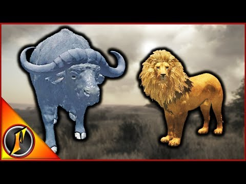 Chasing Cape Buffalo & Finding Lions! | theHunter Call of the Wild