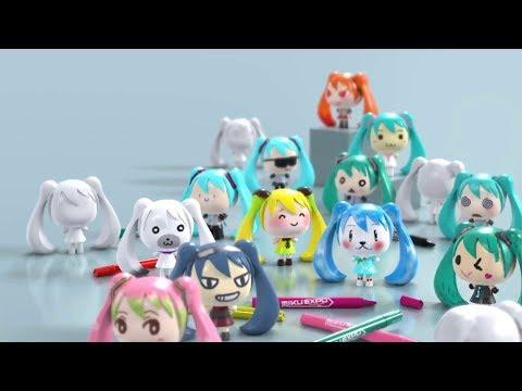 [初音ミク] Can't Make a Song!! feat. Hatsune Miku (MIKU EXPO Let's Paint ver.)