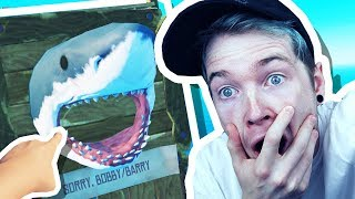 KILLING BOBBY THE SHARK!!! (Raft #2)