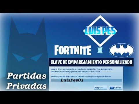 PARTIDAS PRIVADAS FORNITE - Perú  *CÓDIGO*LuisPes01* COSTA ESTE
