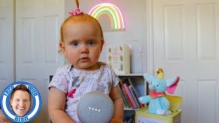 Google Home In The Babies Room