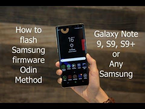 Repair Firmware Galaxy Note 9 SM-N9600 - смотреть онлайн на Hah Life