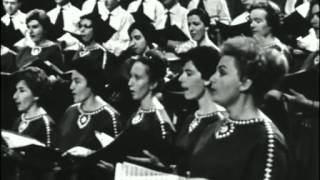 Israeli choir Rinat of Tel Aviv – Sephardic melody (live in France, 1960)