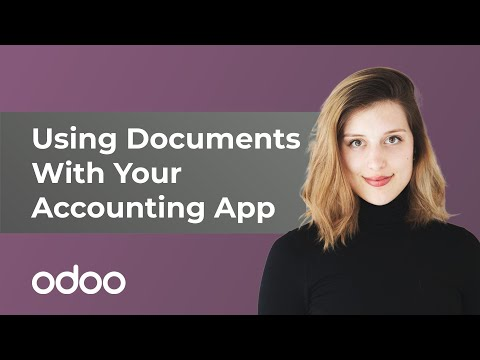 Using Documents With Your Accounting App | odoo Documents