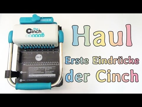 [Haul] The Cinch (Bindegerät) - Erste spontane Eindrücke :)