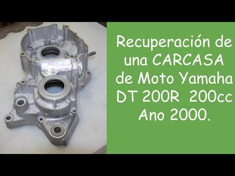 Soldadura TIG - Recuperación de una Carcasa de Moto Yamaha DT200R - 200cc -