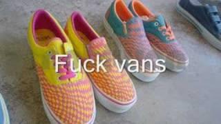 Fuck vans