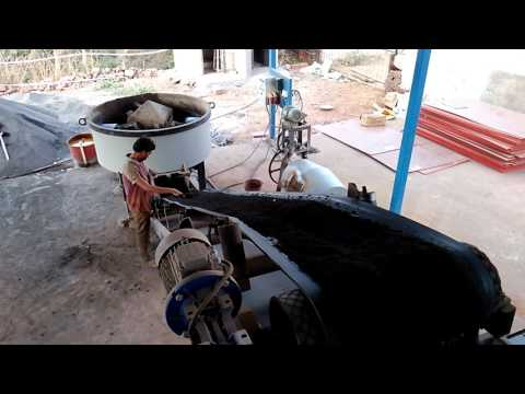 Fly Ash Brick and Paver Block Making Machine