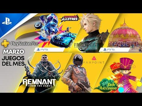 Juegos de PlayStation Plus de marzo: Final Fantasy VII Remake, Maquette, Remnant: From the Ashes y Farpoint
