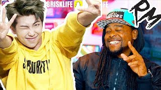 BTS RM & Fall Out Boy - Champion (Remix) | FULL SONG | REACTION!!!