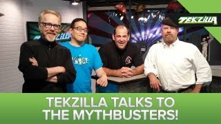 MythBusters Interview! Man of Steel Myth and Google Glass Impressions