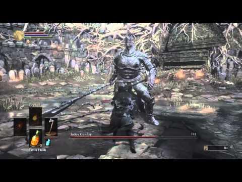 Dark Soul 3 Pyro Build] - Ludex Gundyr - смотреть онлайн на