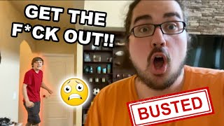 TITO SNEAKS INSIDE THE SML HOUSE!! *GETS CAUGHT* (KICKED OUT)