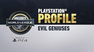 Evil Geniuses: PlayStation Profiles