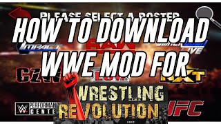 Wrestling Revolution 2d Real Mod Apk