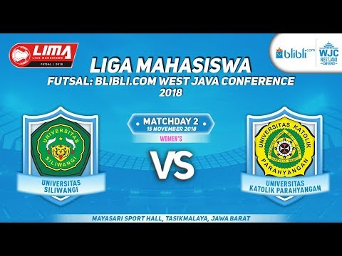UNSIL VS UNPAR  LIMA FUTSAL : BLIBLI.COM WEST JAVA CONFERENCE 2018