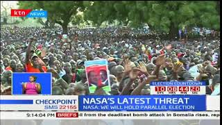 NASA's latest threat: NASA now threatens to hold parallel elections
