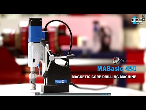 50 mm Diameter Magnetic Core Drilling Machine