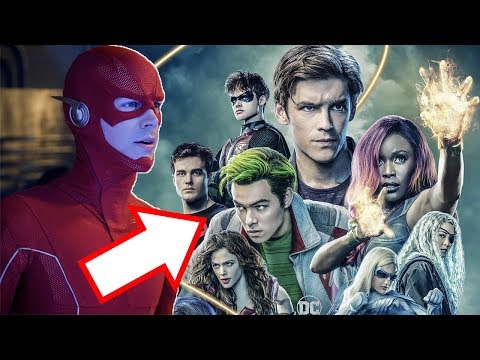 Titans CONFIRMED for Crisis on Infinite Earths! Crossover Scene Explained!
