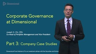 Joe Chi on Corporate Governance: Part Three - Show 253