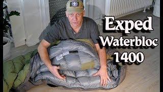 EXPED WATERBLOC 1400 LL, Winterschlafsack