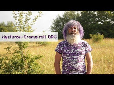 Robert Franz zum Thema: Meine NEUE Hyaluron-Creme mit OPC