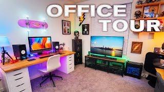Modern Home Office Setup Tour (2019)