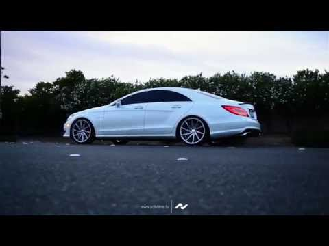 [HD] Mercedes Benz CLS63 AMG on CVT Vossen Wheels Showcase
