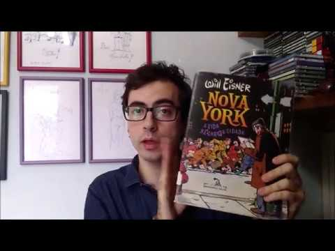 Pirlimpsiquice #10 - Nova York - A vida na grande cidade (Will Eisner)