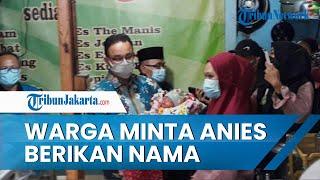 Saat Menyambangi Warteg, Gubernur DKI Anies Baswedan Diminta Beri Nama Cucu Pemilik Warung