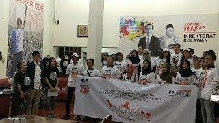 Kaum Profesional hingga Milenial Pemilih Muda Deklarasi Dukungan untuk Jokowi-Ma'aruf Amin
