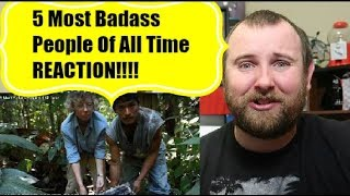 5 Most Badass People Of All Time REACTION!!