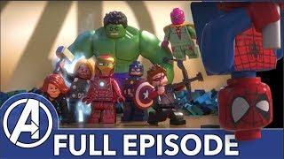 LEGO Avengers Take on Ultron! | Marvel LEGO: Avengers Reassembled (FULL EPISODE)