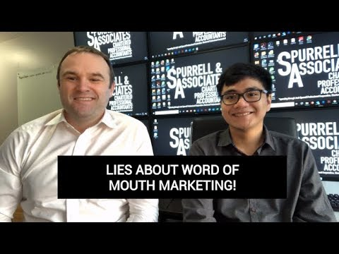 Edmonton Business Coach | Lies About Word of Mouth Marketing