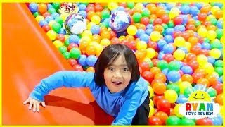 Indoor playground for Kids with Bounce House and Giant Slides!!!!