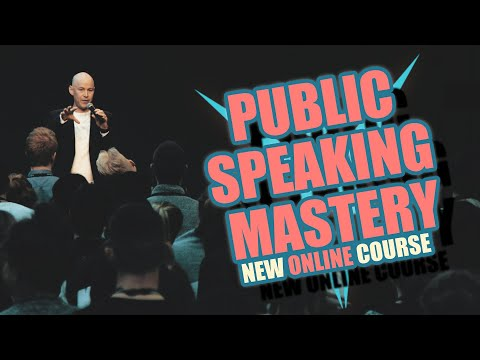 PUBLIC SPEAKING MASTERY (COURSE COMMERCIAL) - YouTube