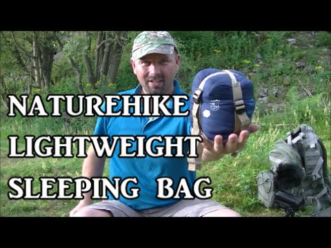 Naturehike lightweight sleeping bag from Lightake