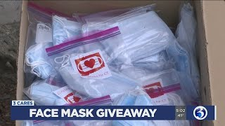 VIDEO: Masks for CT begins on Tuesday morning
