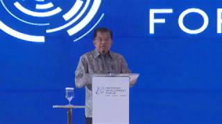 Opening Remarks by H.E. Jusuf Kalla, Vice President of the Republic Indonesia