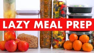 Vegan Meal Prep for LAZY People + FREE GIFT OFFER! - Mind Over Munch