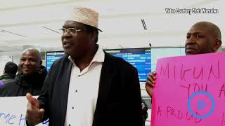 Miguna arrives in Canada - VIDEO