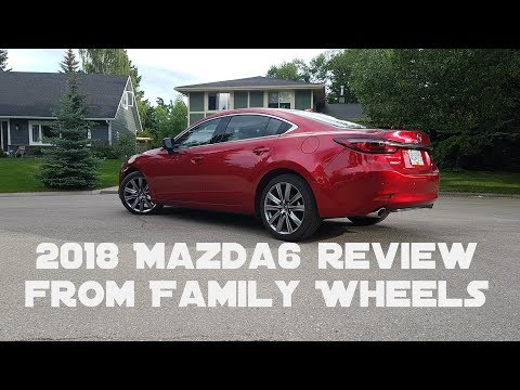 2018 Mazda6 review from Family Wheels