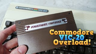 VIC-20 Overload - Penultimate Cartridge, Pentagorat, & Planet X1