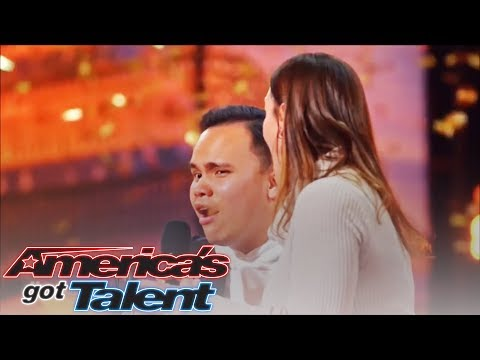 GOLDEN BUZZER Kodi Lee: Great Inspiration Brings Tear on America Got Talent S19 2019 (видео)