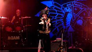 Adam Ant Kick live at Liverpool O2 Academy 28th May 2011