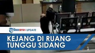 Viral Video Wanita Kejang-kejang di Ruang Tunggu Pengadilan, PN Jakarta Timur Berikan Penjelasan