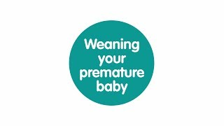 Weaning your premature baby - the signs to look for
