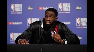 Draymond Green - Full Press Conference | Game 1 | Warriors vs Raptors