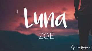 Luna - Zoé / Letra